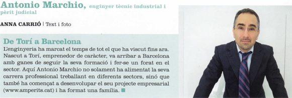Entrevista enginyer Antonio Marchio Borelli