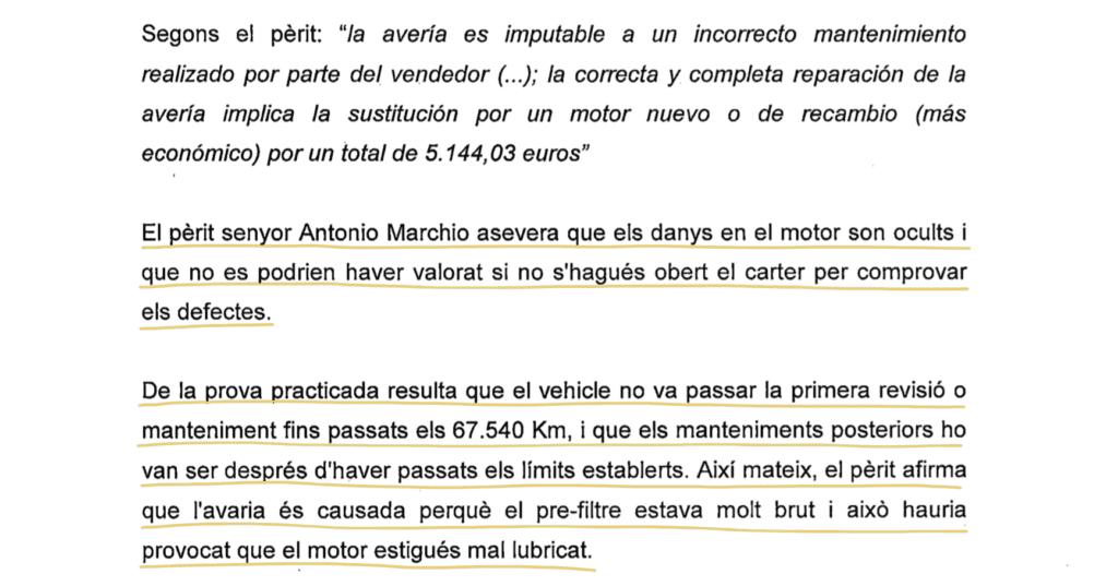 sentencia Juzgado Sant Boi de Llobregat